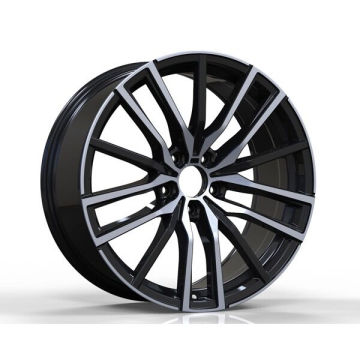 Black Machined BMW Replica Wheels